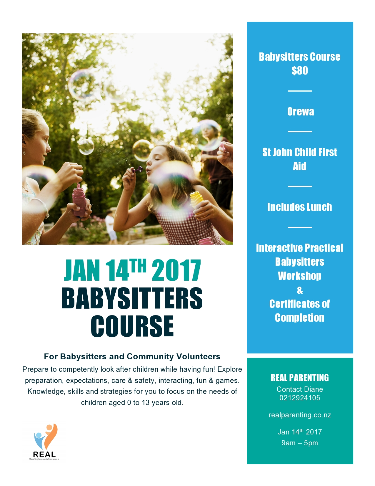 noticeboard babysitting course 14th 2017 please click for details